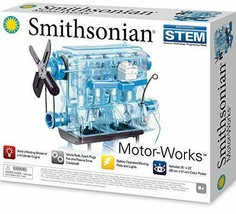 *Engine model skeleton engine Plastic Smithonian Smithsonian - $76.15