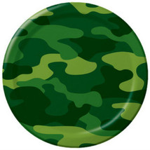 Army Camo Party Dinner Plates (8) - $5.41