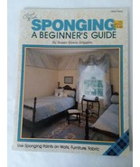 Fresh Wash Sponging Beginner's Guide for Painting Walls Furniture Fabric - $4.94