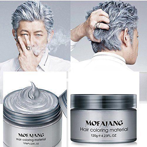 HailiCare Silver Grey Hair Wax 4.23 oz, Professional PLUS FREE 24K GOLD GIFT!! - $9.99