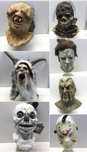 Lot (7) Halloween Mask Night Breed Berzerker Creepshow Nate Clive Barker Krampus image 1