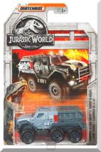 Matchbox - Armored Action Truck: Jurassic World - Fallen Kingdom (2018) *Gray* - $3.50