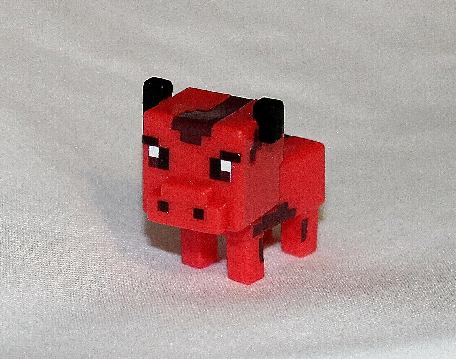 New Minecraft Mini Figure Spooky Series 9 Infernal Cow Minifigures Creeper