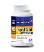 ENZYMEDICA Digest Gold + Probiotics 90 veg caps  (Best By 9/2020) - $27.98