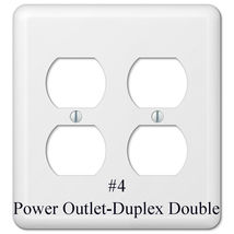 National Teams Light Switch Power Duplex Outlet Wall Cover Plate Home decor image 12