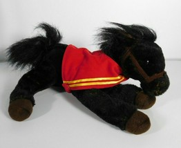 "Wells Fargo MIKE Black Legendary Pony Horse Plush 16"" Stuffed Animal Toy... - $12.33"