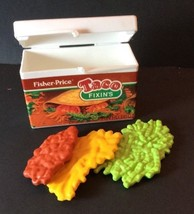 Fisher Price Fun With Food Taco Box Meat Cheese Lettuce Mexican Play Pre... - $19.57
