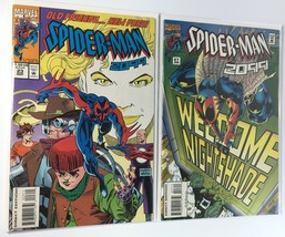 1994 SPIDER-MAN 2099 Comic Book LOT Of 2 #23 #27 7.0 F VF Marvel Spiderman - $2.98