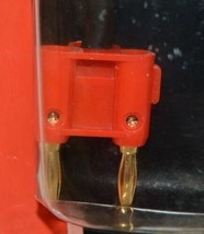 Hosa Technology BNP116RD Speaker Adaptor Quarter Inch TS To Dual Red Banana image 2