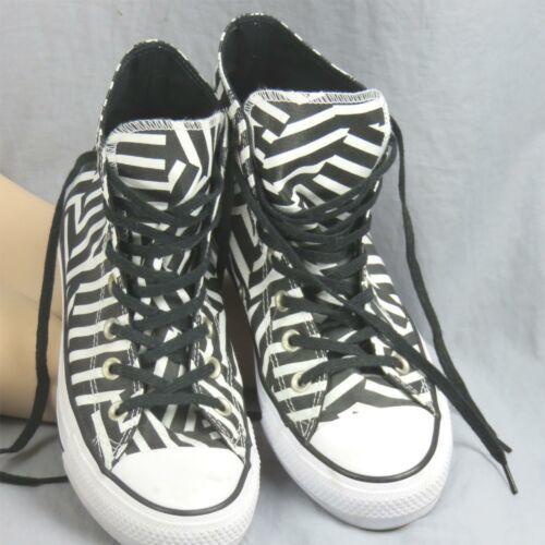 Converse Tout Étoile Chuck Tailleur Géométrique Rayé Échantillon Shoes Hommes 6 image 5