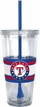 Texas Rangers 22oz Straw Tumbler - MLB - $10.66