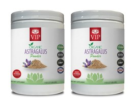 immune system health - ORGANIC Astragalus Powder - prevent cold and flu 2 Bottle - $42.03