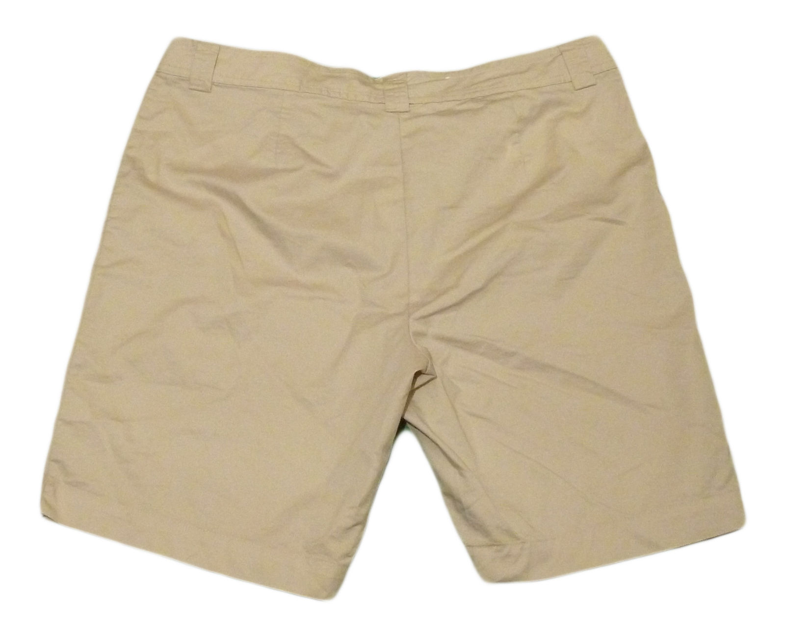 Womens Brown WHITE STAG Casual Shorts 18 Cotton Polyester Blend