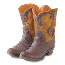 Outdoor Flower Planters, Western Cowboy Boot Planter Pot For Decorating ... - $31.83
