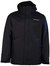 Columbia Mens Arctic Trip II Interchange Jacket-Black-Small - $158.35