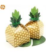 DIYHouse® 12PCS/Lot DIY Paper Pineapple Gift Box Kids Birthday/Beach Wed... - $7.64