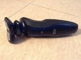 Philips Norelco - Click & Style Wet/Dry Electric Shaver - Black & Blue - $19.94