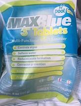 "Bulk pack 30 MaxBlue Pooltime 3"" multi-functional 6 in 1 pool sanitizing... - $27.73"