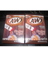 A & W Root Beer Singles to go! 2-6 Stick Boxes - $4.40