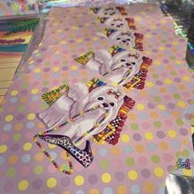 Lisa Frank Stickers Stationery Lot Princess Pearls Puppies Sandcastles Dalmatian image 8