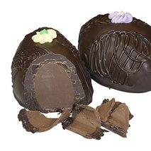 Philadelphia Candies Cappuccino Truffle Easter Egg, Dark Chocolate 8 Ounce Gift  - $13.81