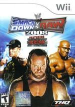 WWE SmackDown vs. Raw 2008 Featuring ECW (Nintendo Wii, 2007) - $5.99