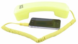 FI-HI VoIP YELLOW Internet Phone with Jack & Adapter