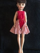 """18"""" Antique Hard Plastic Doll Marked 14R - $12.60"""