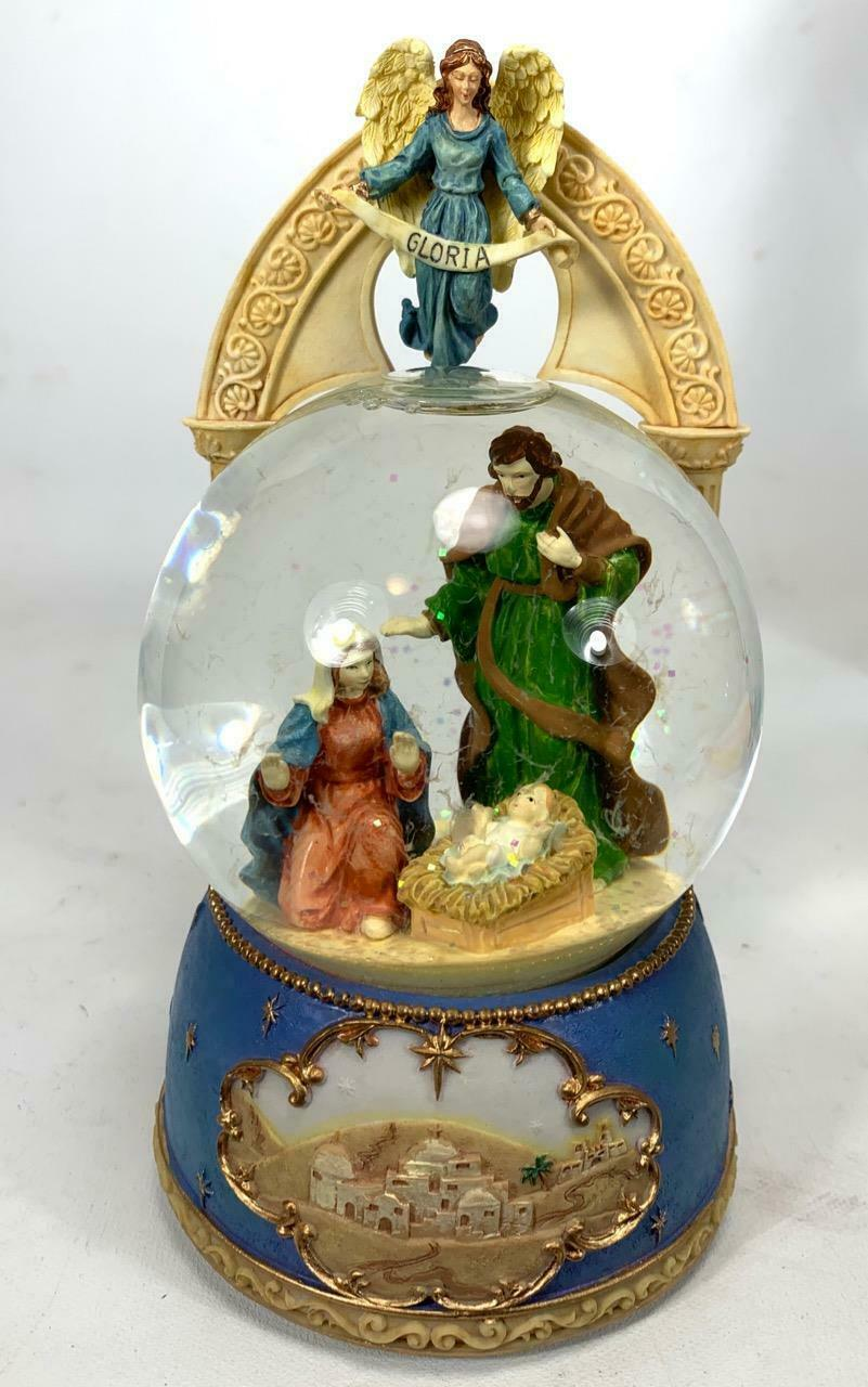 Primary image for The San Francisco Music Box Company Nativity Musical Snow Globe 7.5""