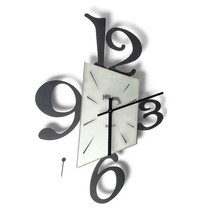 Arti e Mestieri Wall Clock Made in Italy For Parts or Repair - $34.64