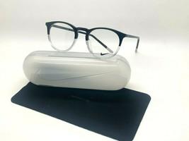 New Nike 7251 013 BLACK/CLEAR Optical Eyeglasses 49-20-145MM /CASE &Cloth - $57.77