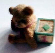 Enesco Cherished Teddy Birthday Bear #1 - $10.00