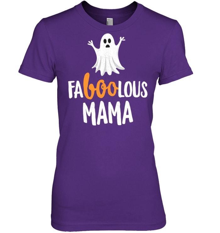 Faboolous Fabulous Mama Halloween Tshirt