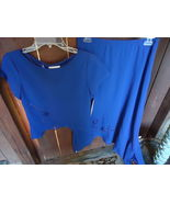 2 piece Blue Skirt Set by Peri - $9.99