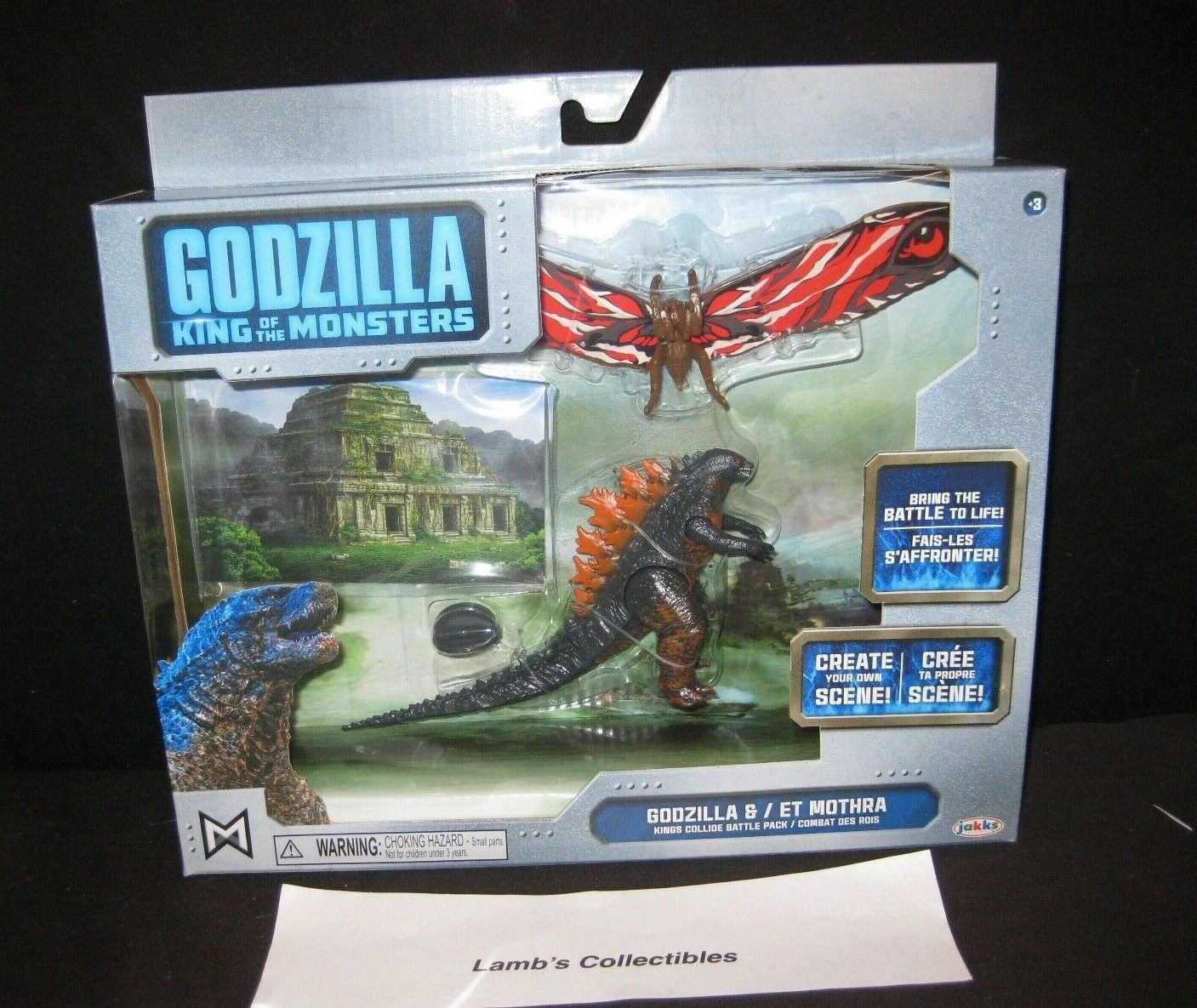 Primary image for Godzilla King of the Monsters collide battle pack Fire Godzilla and Mothra figs