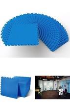 Puzzle Exercise Mat EVA Foam Interlocking Tiles Karate Crossfit Martial ... - $150.45