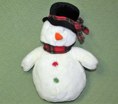 "13"" TC DAWSON SNOWDEN SNOWMAN FIESTA CHRISTMAS BEANBAG PLUSH STUFFED TOY... - $17.82"