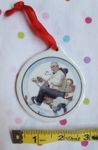 Norman Rockwell GRAMPS AT THE REINS JCPenney 1997 Promotional Christmas Ornament - $17.82