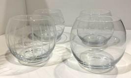 Set of 4 Mikasa Cheers 17 oz Stemless Wine Glasses - $28.50