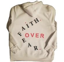 New !!! Faith Over Fear Jesus Hoodie!!!! - $24.74