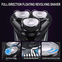 Electric Razor for Men FLYCO Intelligent Electric Shaver, Wet & Dry Rotary Shave image 2
