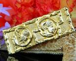 Vintage owl of athena minerva goddess wisdom greek roman brooch pin thumb155 crop