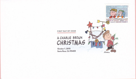 US #5021-30 2015 First-Class Issue Set Charlie Brown Snoopy Contemporary Christm image 7