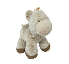 BABY GUND YOH SO SOFT PONY BROWN HORSE STUFFED ANIMAL PLUSH TOY RATTLE 4... - $32.38