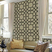 Reusable Stencils for DIY Wall Decor Sophia Trellis Allover Stencil SMALL