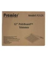"""NEW Matin Yale Premier P212X 12"""" PolyBoard Trimmer Cuts up to 10 Sheets - $47.40"""