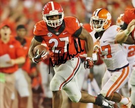 Nick Chubb Signed Photo 8X10 Rp Autographed Georgia Bulldogs Football - $19.99