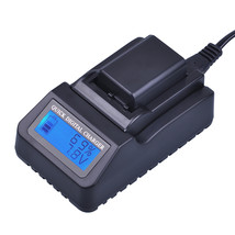 Digital LCD Quick Battery Charger for NP-FW50 for Sony A6000 NEX-7 NEX-5... - $39.98