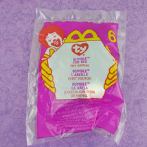 TY Teenie Beanie Baby Bumble the Bee Toy Animal 2000 McDonalds #6 - $7.92