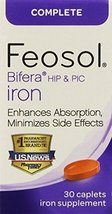 Feosol Complete with Bifera,30 Count (Pack of 2) - $33.73